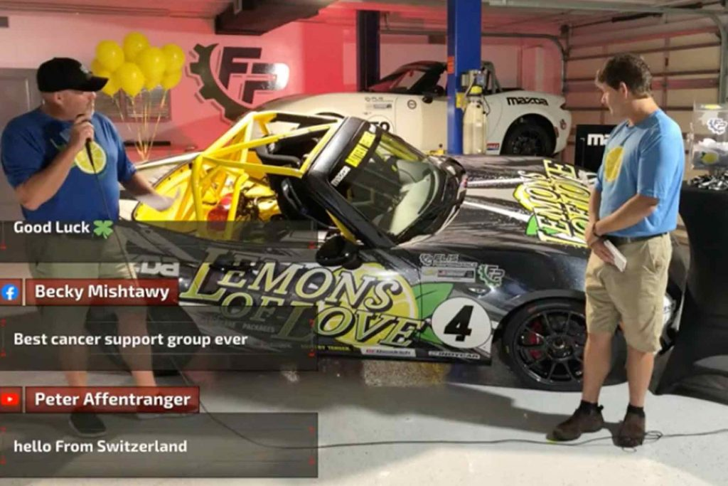 Lemons of Love Flis Performance Mazda Race Car Giveaway